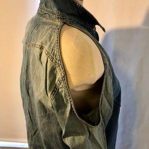 Vans Tops - Vans Jean Shirt